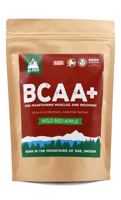 KLEEN BCAA+ - Wild Apple 200g